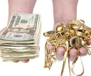 money vs gold
